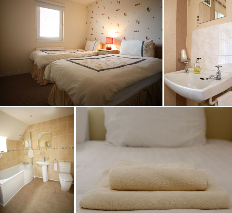 Beautiful guest accommodation in Ardrossan