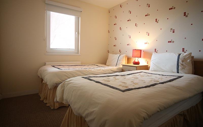 Welcoming, spacious bedrooms